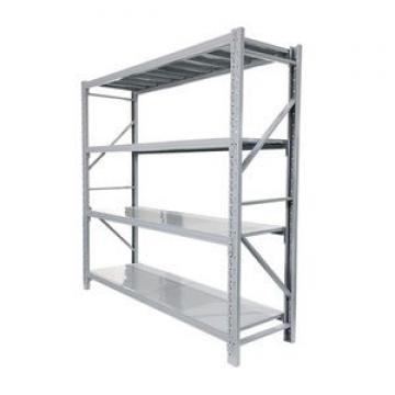 Various Size Freestanding Rivet Lock Boltless MDF Shelf Metal Storage Rack