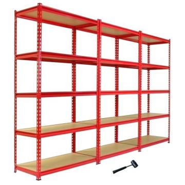 Heavy Display Adjustable Rivet Supermarket/Warehouse Steel Metal Rack High Quality Shelving