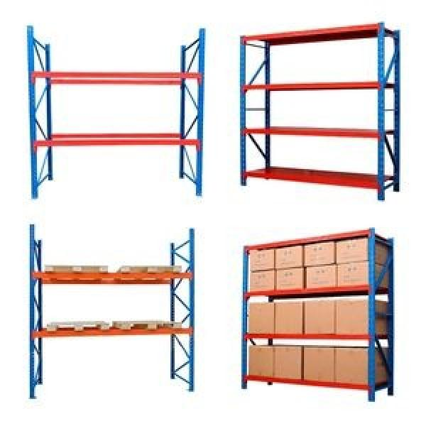 Industrial Metal Anti Corrosive Heavy Duty Selective Pallet Selective Storage Warehouse Stacking Shelving #1 image