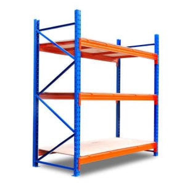Industrial Metal Anti Corrosive Heavy Duty Selective Pallet Selective Storage Warehouse Stacking Shelving #3 image