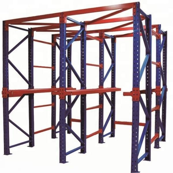 Easy Assembly Metal Flooring Electric Power Cable Storage Pipe Rolling Rack #1 image
